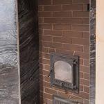Банная печь в к.п. Миллениум Парк