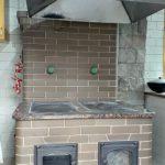 Печь с плитой и духовкой в Подушкино
